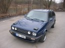 VW Golf II TD intercooler
