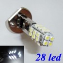 LED ŽÁROVKA H1 28 SMD LED