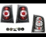 Zadní tuning světla Škoda Octavia kombi černé