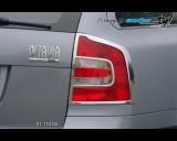 Škoda Octavia II - Rámeček zadních světel Combi - chrom (Autostyl Janko)