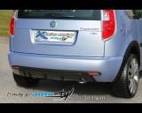Škoda Roomster - Zadní difusor Sport - černý desén (Autostyl Janko)