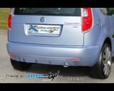 Škoda Roomster - Zadní difusor Sport - hladký pro lak (Autostyl Janko)