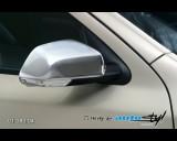 Škoda Octavia II - Kryt zpětného zrcátka - chrom (Autostyl Janko)