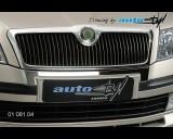 Škoda Octavia II - Chrom pod přední masku (Autostyl Janko)