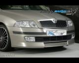 Škoda Octavia II - Přední spoiler - pro lak (Autostyl Janko)