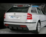 Škoda Octavia II - Difuzor zadního nárazníku černý desén s bočními spoilery pro lak - combi (Autostyl Janko)