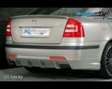 Škoda Octavia II - Difuzor zadního nárazníku s bočními spoilery pro lak (Autostyl Janko)