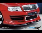 Škoda Superb - Spoiler pod přední spoiler - černý desén (Autostyl Janko)