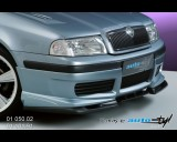 Škoda Octavia 2001 - Spoiler pod přední spoiler - černý desén (Autostyl Janko)