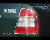 Škoda Octavia 2001 - Rámeček zadních světel - chrom (Autostyl Janko)