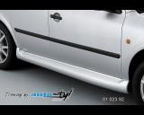 Škoda Octavia II - Nástavky prahů, pro lak(Autostyl Janko)