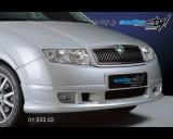 Škoda Fabia - Spoiler pod přední nárazník do 8/04 (Autostyl Janko)