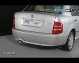 Škoda Fabia - Spoiler pod zadní nárazník sedan/combi (Autostyl Janko)