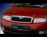 Škoda Fabia - Lišta masky - černý desén (Autostyl Janko)
