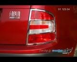Škoda Fabia - Rámeček zadních světel - combi, sedan, chrom r.v. od 9/04 (Autostyl Janko)
