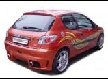 Peugeot 206 - Zadní nárazník (Design Šimík)