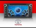 2 DIN autoradio DVD, GPS - Toyota (800 x 400 disp.) - Rav4, Corrola, Yaris, Celica..