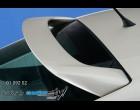 Škoda Octavia II - Křídlo horní na okno - bez lepící soupravy na sklo (Autostyl Janko)