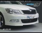 Škoda Octavia II - Spoiler předního nárazníku - pro lak (Autostyl Janko)