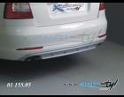 Škoda Octavia II- Difuzor zadního nárazníku - stříbrný - sedan/combi (Autostyl Janko)