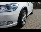 Škoda Octavia II- Lemy blatníků - černý desén - combi (Autostyl Janko)