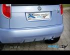 Škoda Roomster - Zadní difusor - hladký pro lak (Autostyl Janko)