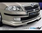 Škoda Octavia II - Spoiler pod přední spoiler -černý desén (Autostyl Janko)