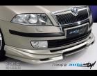 Škoda Octavia II - Spoiler pod přední spoiler - pro lak (Autostyl Janko)