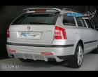 Škoda Octavia II- Difuzor zadního nárazníku - pro lak (Autostyl Janko)