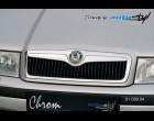 Škoda Octavia - Lišta masky - chrom (Autostyl Janko)