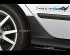 Škoda Fabia - Zadní díl k prahům (samostatný) - černý desén (Autostyl Janko)
