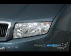 Škoda Fabia - Kryt velkých světel imitace - pro lak (Autostyl Janko)
