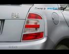 Škoda Fabia - Rámeček zadních světel pro lak r.v. do 8/04 (Autostyl Janko)
