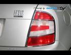 Škoda Fabia - Rámeček zadních světel - chrom r.v. od 09/04 (Autostyl Janko)