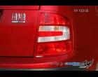 Škoda Fabia - Rámeček zadních světel - combi, sedan, pro lak r.v. od 9/04 (Autostyl Janko)
