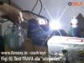 Xenony videotest - rozbíjení kladivem, potápění do vody